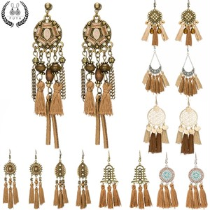 Bohemian Brown Earrings♥