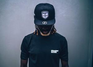 STRASSENKICKER  ENGLAND  CAP  Black