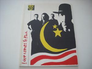 【パンフレット】U2 / LOVE COMES TO TOWN TOUR