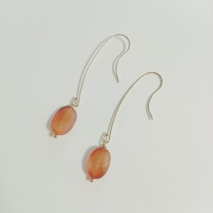 14kgf carnelian pierce
