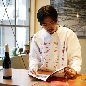 Wine Stain Sweatshirt Tee