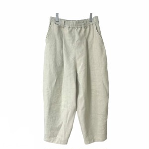 Tapered-Pants  (ivory/linen.rayon)