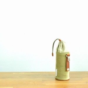 CANVAS PETBOTTLE HOLDER / MOSS GREEN