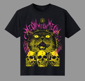 """【9月再発予定】T-shirt  """"MEOW(キル)"""""""