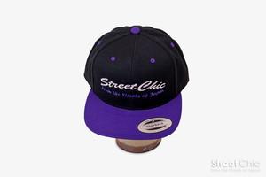 Crew - キャップ[2-Tone]Black/Purple