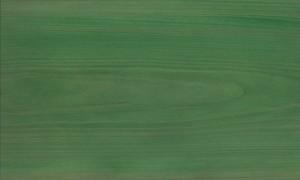 桧ツキ板 板目 0.6mm厚 30*21cm 染色緑