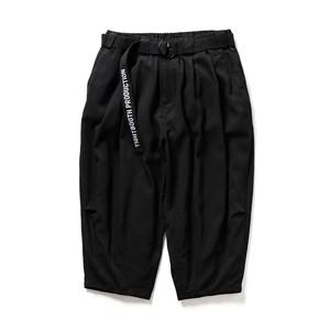 TIGHTBOOTH PINHEAD CROPPED PANTS BLACK L