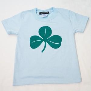 SHAMROCK Tシャツ キッズサイズ サックスブルー