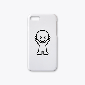 IDEAS/ UNIT-SPEAK-ureshi-i iPhone7case ホワイト