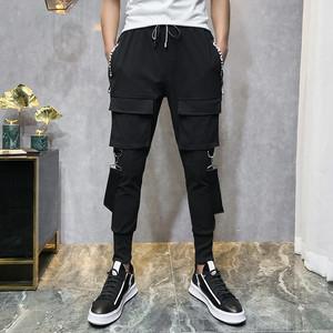 【トップス】韓国系ファッションポケット飾りスポーツ系カジュアルパンツ25508546