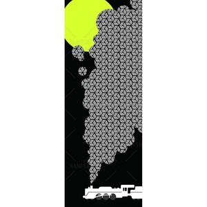 鉄道のある風景 月と籠目(SAMPLE)