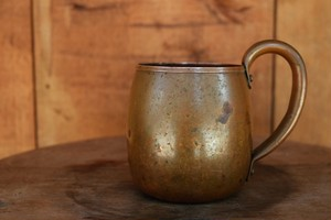 USED  70s WEST BEND Solid Copper Mug G0601