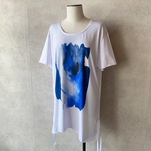Digital print Tops / white【AS SUPERSONIC】