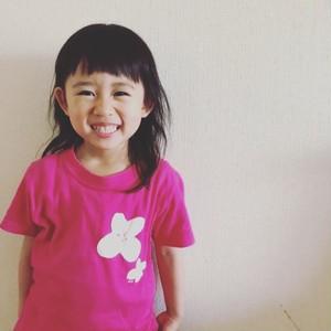 Bagel おはなTシャツ (Pink)