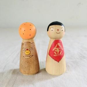 松田知子/マトリョーシカミニ 金太郎&親指姫