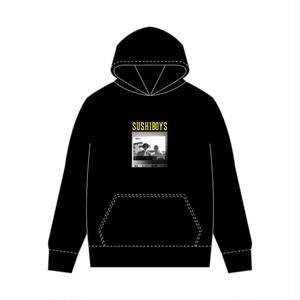 プリント hoodie