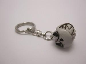 ROONEY Key Chain Skull Color