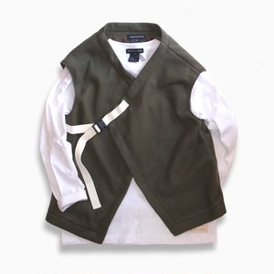 WCH Fleece Cachecoeur Vest -Olive