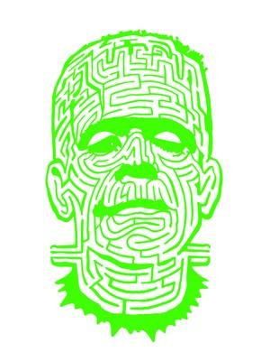THE MAZE ドルマンTシャツ グリーン
