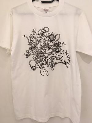 【Deadstock】Naoki Tanaka × Masanori Ido「花」Tシャツ