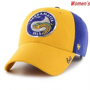 Parramatta Eels Women's CLEAN UP Cap  Yellow×Blue