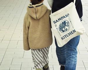 SAMPAIO KITCHEN _ ショルダーバッグ [ナチュラル×インディゴ]