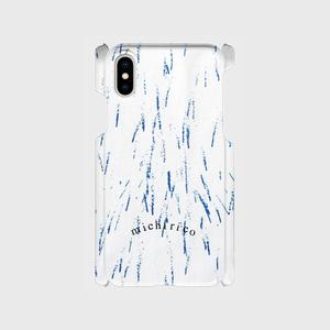 iphone X/XS用 case 【hanabi】ホワイト  【送料無料】