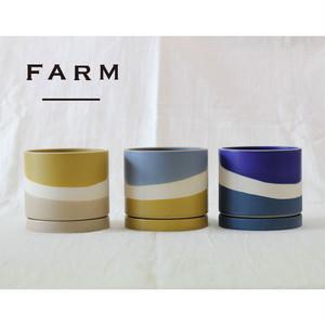 [FARM]3カラーポット&ソーサー