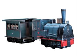 松山の軽便鉄道 ペーパークラフト
