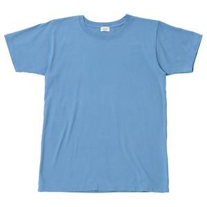 ※アウトレット品 Women's クルーネックTシャツ Sax 0サイズ