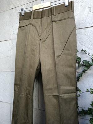 Deadstock 〜1970s Levis STA-PREST brown color Big-E