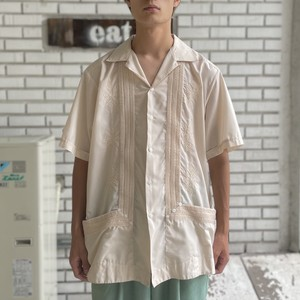 USED POLYESTER COTTON S/S CUBA SHIRT
