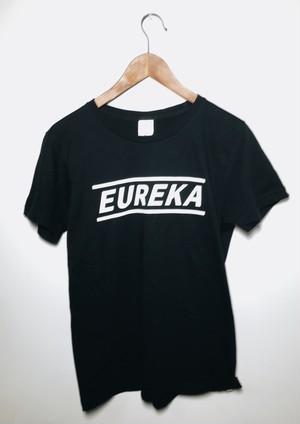 「EUREKA 」Tシャツ(ブラック)