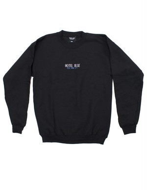 HOTEL BLUE HB NYC CREWNECK SWEAT BLACK
