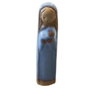 陶芸品 小マリア像 11.5cm/伊万里トラピスチヌ