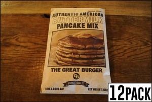THE GREAT BURGER BUTTERMILK PANCAKE MIX【 パンケーキミックス200g×12袋セット 】