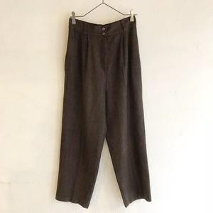 wool herringbone pants