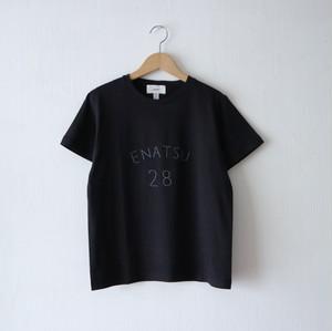 ENATSU Tシャツ・ブラック