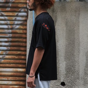 QUOLT / クオルト |【SALE!!】GUERO LOOSE TEE - Black / ルーズTeeシャツ