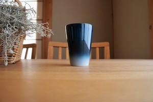 砥部焼/フリーカップ(中)内側白/ヨシュア工房