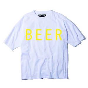 BEER ロゴT イエロー