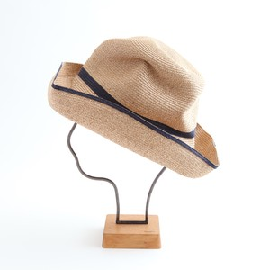 mature ha./BOXED HAT 101SW mixbrown×navy