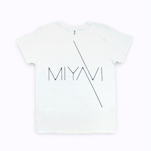 MIYAVI Logo T-shirts (White)