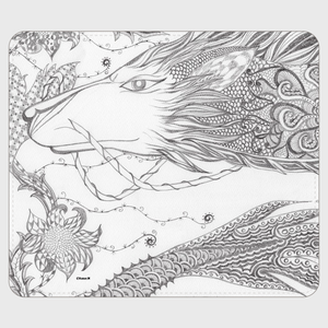 手帳型(帯なし)サイズ(L):006(伯(はく))【kazue.M】