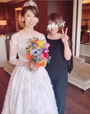 Confetti\ Bride♡3Dレースが特徴的なオーダードレス