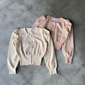 pearl button cardigan[2103-49]