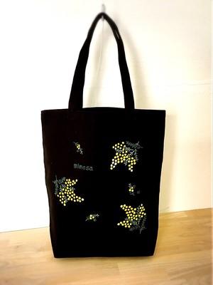 NEW【ミモザ】トートバッグ/母の日プレゼント・誕生日プレゼント・還暦祝い・お稽古バッグ