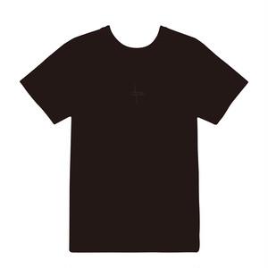 T-SHIRT <Black Logo × Black>