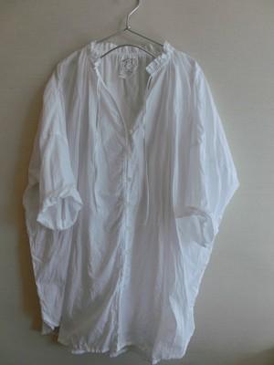 ドルマンシャツ コットン ホワイト 2サイズ