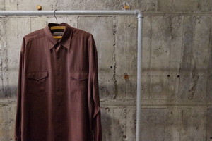 Silk shirt(USED)